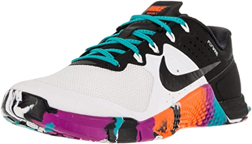 Inmunizar Alrededor no usado  Amazon.com | Nike Womens Metcon 2 White/Gamma Blue/Hyper Violet size 7.5 |  Road Running