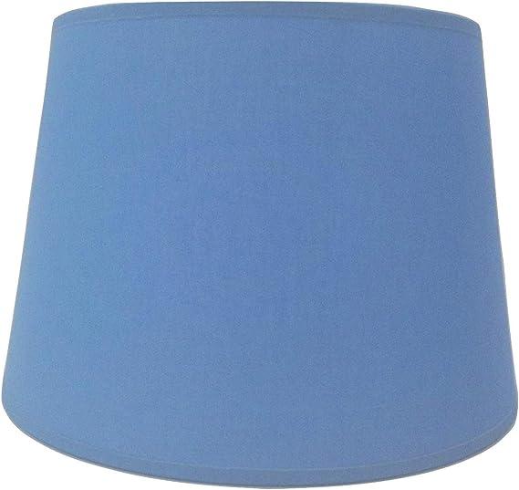 30,5/cm Bleu Tissu de coton Abat-jour Abat-jour lampe de table fait /à la main.