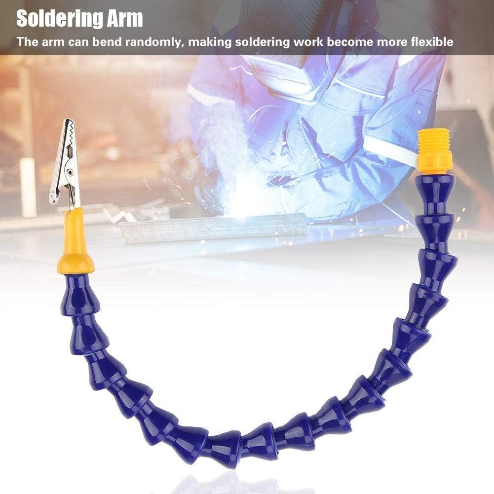 Helfende Hand Dritte Hand L/ötarm Ersatzhand f/ür helfende Hand L/ötstation Leiterplattenbefestigung 1St Flexibler Arm