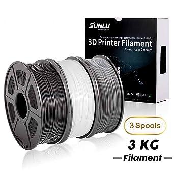 Amazon.com: Filamento de impresora 3D PLA Plus, Filamento ...