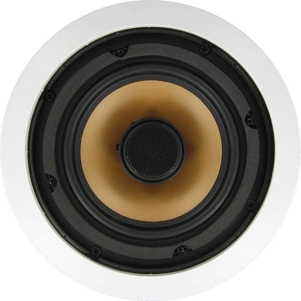 """Inwalltech M65.1C - 6 1/2"""" 250 Watts Ceiling Speakers (Pair, White)"""