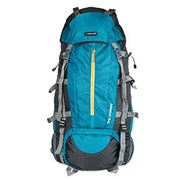 Indian Riders 75L Front Open Model Hiking Trekking Camping Rucksack Bags-T. Blue   Black-(IRRB-007)  Amazon.in  Bags f4366429e22f3