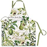 Michel Design Works Cotton Chef Apron, Avocado