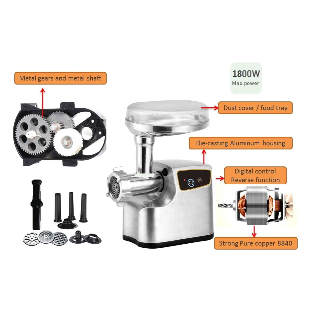 Smokehouse Products 3/4 HP Meat Grinder by Smokehouse (Image #2)