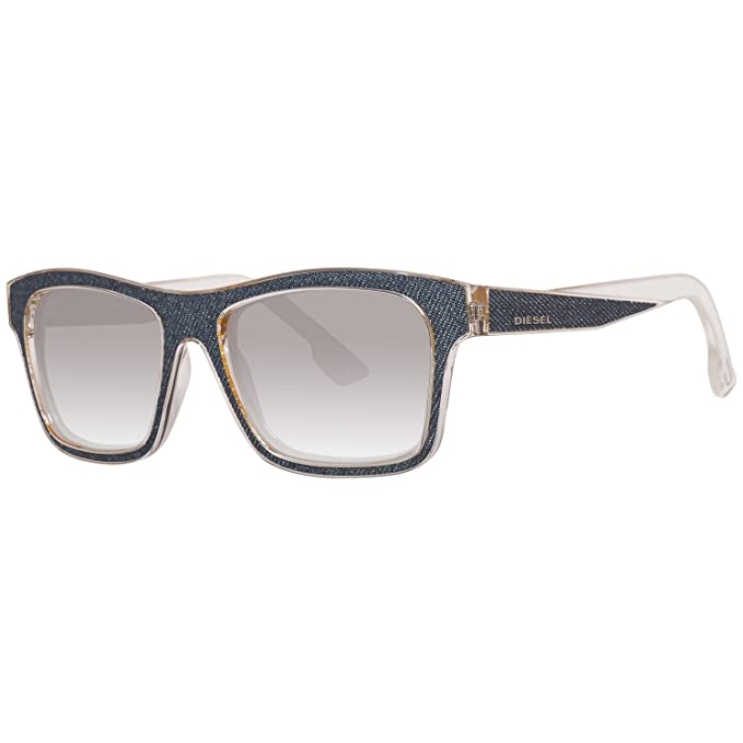 f46aac01ad Diesel Denim Temple Wayfarer Sunglasses in Black DL0071 01A 55