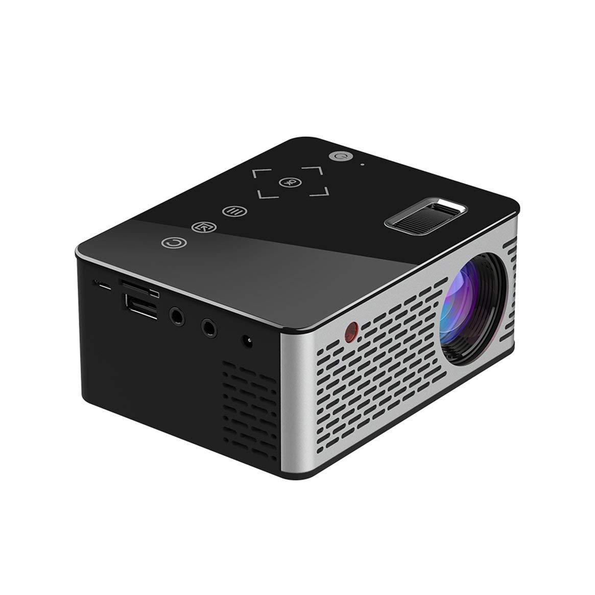 Práctico Mini proyector con Pantalla LCD Jugar Juegos Ver Videos ...