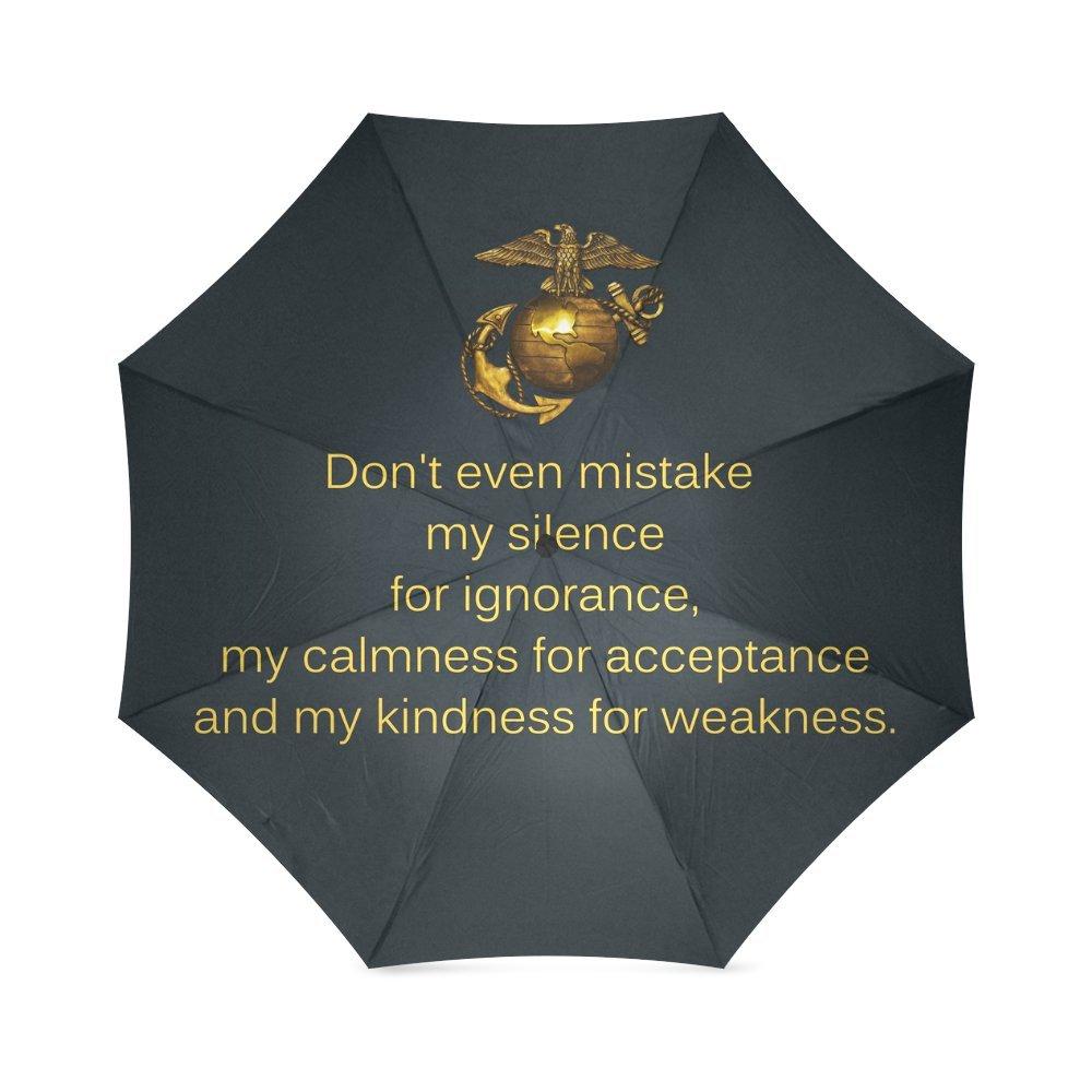クリスマス/感謝祭ギフトUSMC United States Marine Corps海兵隊Semper Fi折りたたみ式太陽/ Rain傘サンシェードパラソル   B01MF8NOO0