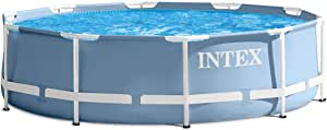 Intex - 28702-10ft x 30in Prism Frame Pool with Filter Pump with UK plug