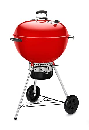 Weber Master-Touch GBS LE Barbecue Charcoal Kettle Red - Barbacoa (Barbecue, Charcoal