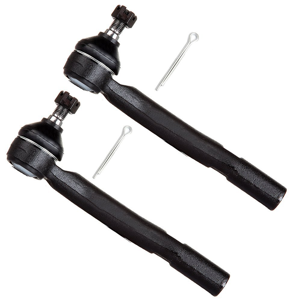 Scitoo 2pcs Suspension Kit 2 Front Outer Tie Rod Ends Steering Tie Rods fit 2004-2006 Lexus ES 330 2007-2012 ES 350 2005-2012 Toyota Avalon 2004-2011 Camry 2004-2008 Solara