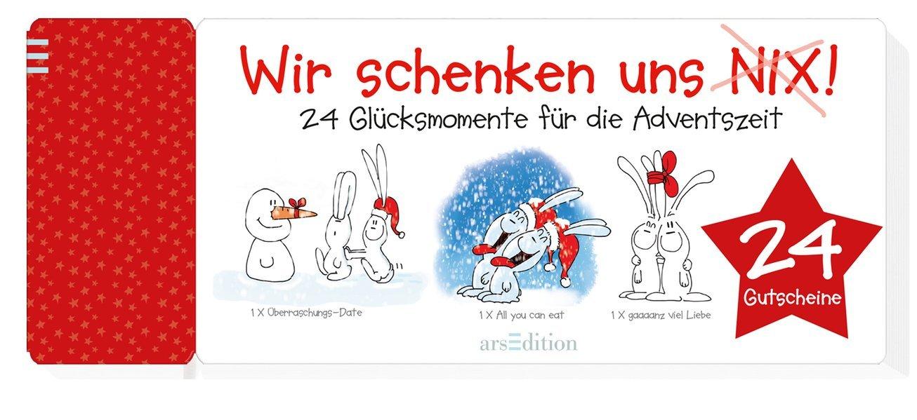 Wir schenken uns nix!: 24 Glücksmomente für die Adventszeit Kalender – Adventskalender, 30. September 2015 Alexander Holzach arsEdition B00VV58SAW NON-CLASSIFIABLE