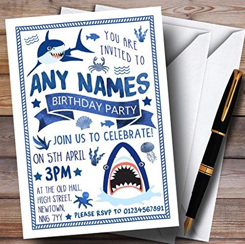 shark invitations - 7