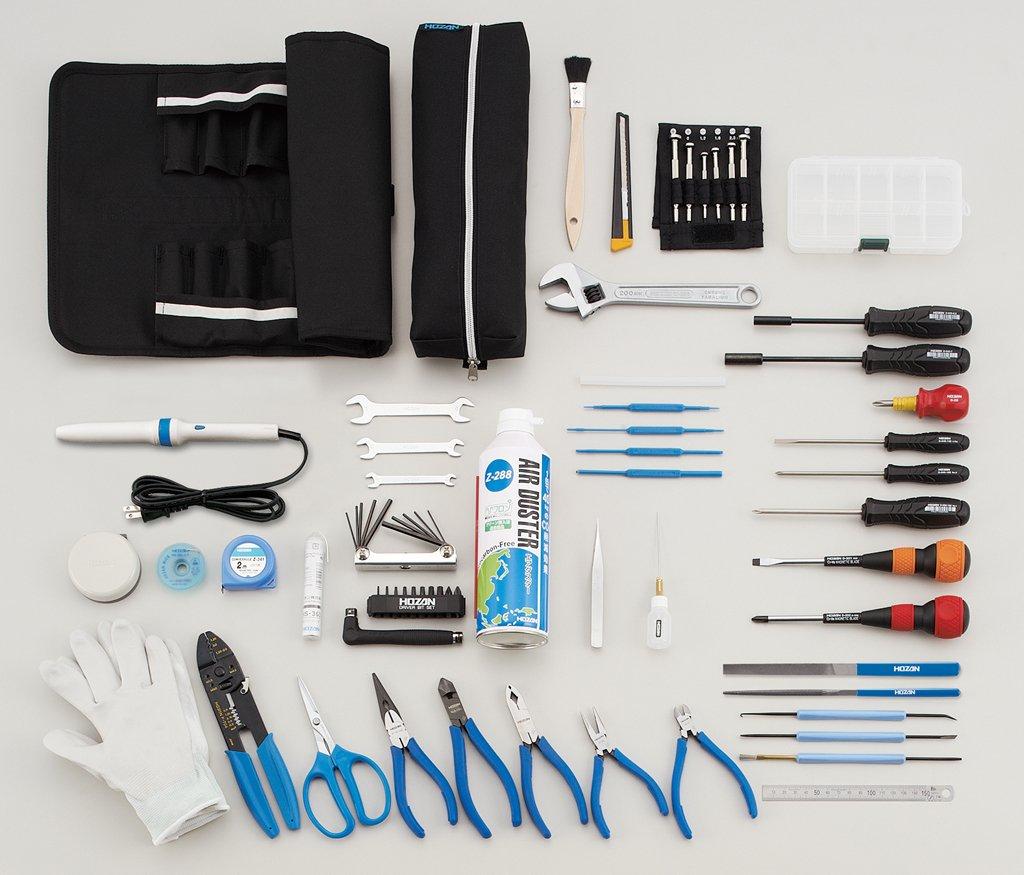 ホーザン(HOZAN) 工具一式 工具セット 医療機器、光学機器、分析検査機器、家電などエレクトロニクス機器のメンテナンスにS-211 B00CXKUE88