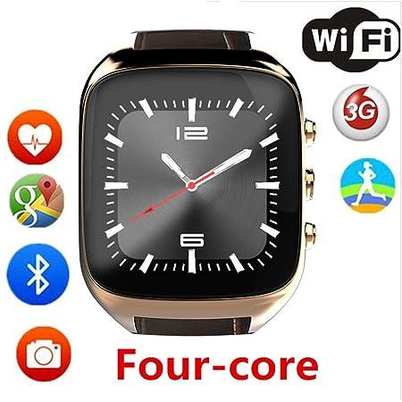 RENYAYA Android Smartwatch Bluetooth frecuencia cardíaca 1.3 ...