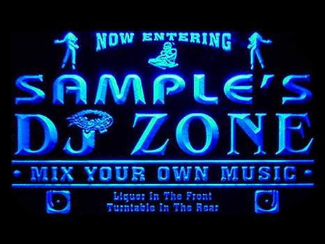 Amazon Com Advpro Qh Tm Name Personalized Custom Dj Zone Music Turntable Disco Bar Beer Neon Sign Home Kitchen