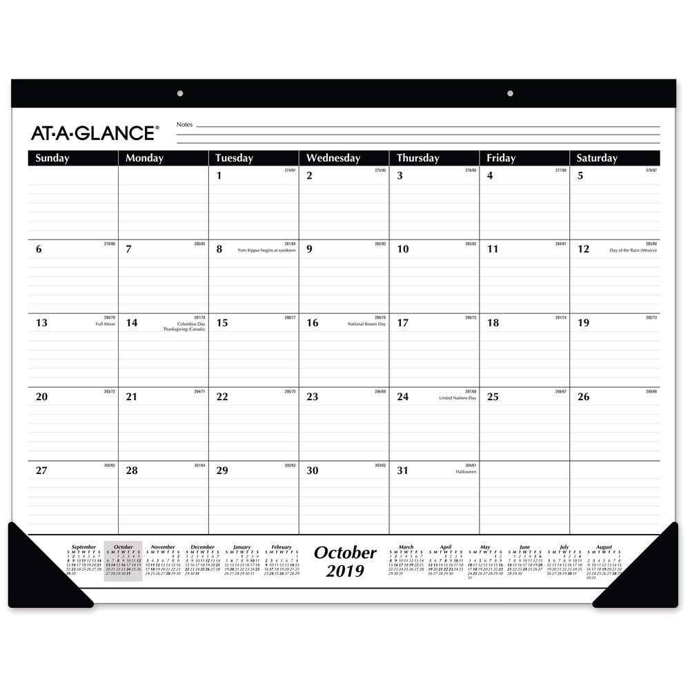 AT-A-GLANCE 2019-2020 Academic Year Desk Pad (11SK241600) by AT-A-GLANCE