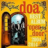 """doa BEST ALBUM""""open door""""2004-2014"""