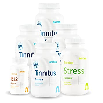 Arches Tinnitus Combo Pack - Now with Ginkgo Max 26/7 - Natural Tinnitus  Treatment for Relief
