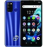 """Celular Smartphone F31 Dual Chip 32GB tela 6.26""""ips, leitor digital, capa silicone e película (Azul)"""