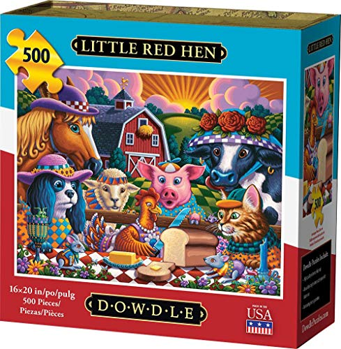 Dowdle Jigsaw Puzzle - Little Red Hen - 500 Piece