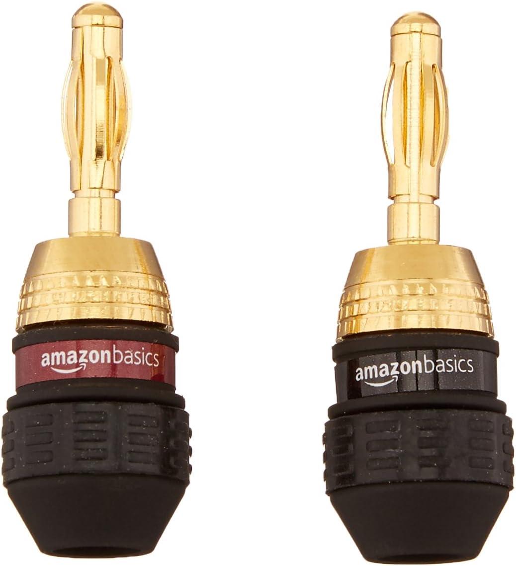 Basics Speaker Connector Banana Plugs 6 pairs