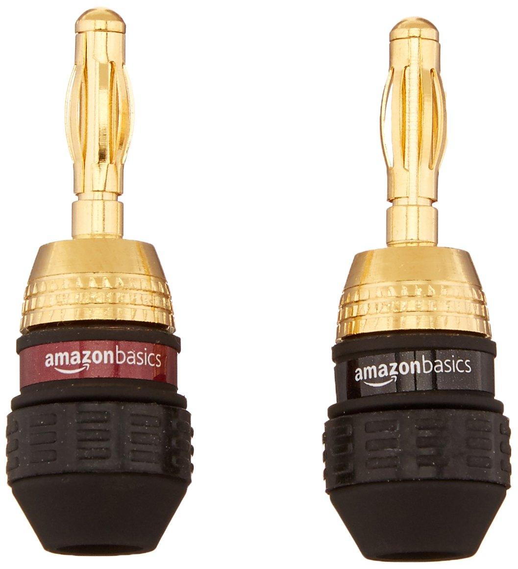 AmazonBasics Banana Plugs - 12 pairs