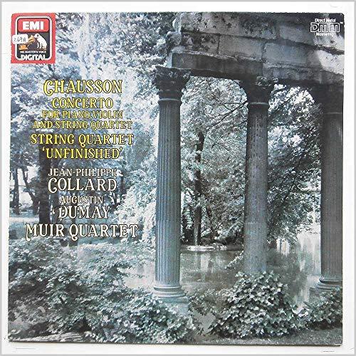 Chausson: Concerto For Piano, Violin and String Quartet [LP]