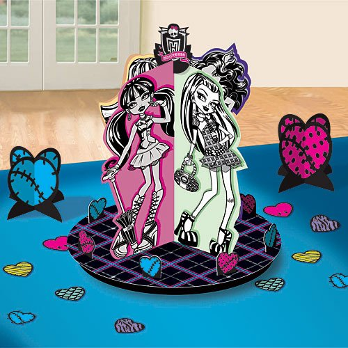 Monster High Centerpiece Kit 13 Pc. -