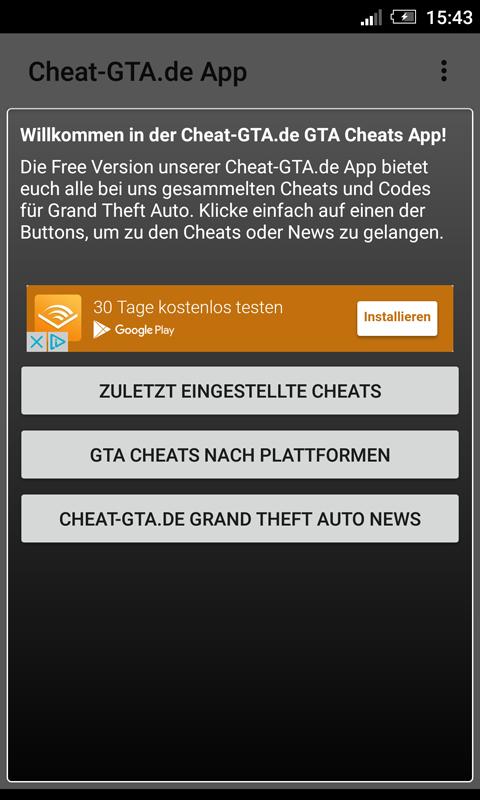 gta cheats app