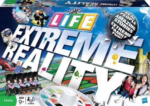 Milton Bradley Hasbro - Milton Bradley Game of Life-Extreme Reality