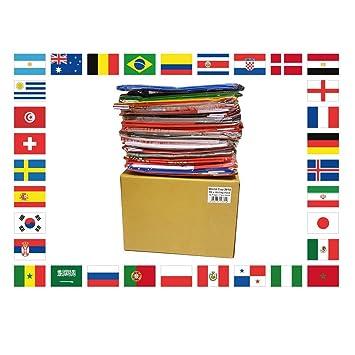 Az Flag Kit 32 Flaggen Fussball Weltmeisterschaft 2018