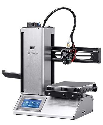 Monoprice Select Mini Pro Impresora 3D - Aluminio con (120 x ...