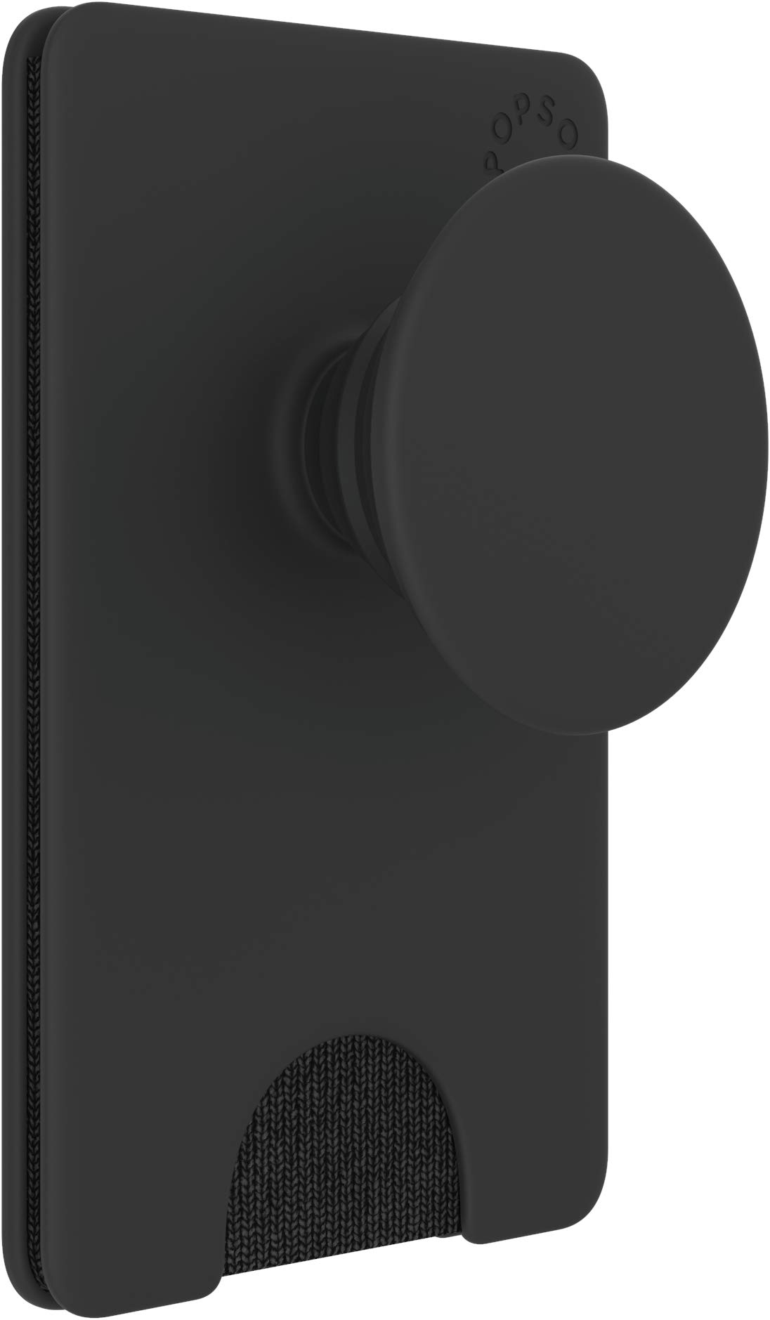 PopSockets PopWallet+: Swappable & Repositionable Wallet - Black by PopSockets