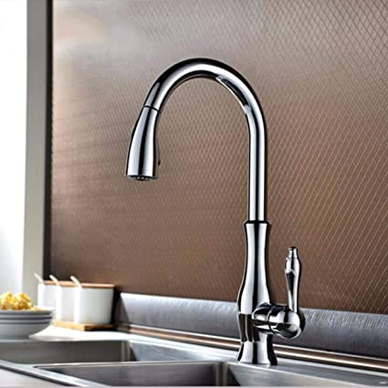 Amazon.com: Kitchen Faucet European Kitchen Golden Faucet ...