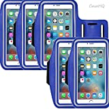 samsung galaxy s6 unlocked mini - Universal Sports Armband for Apple iPhone 7/7 Plus iPhone 6/6s Plus Samsung Galaxy S7/S6/S5 Sweatproof Running ArmBelt With Small Holder & Pouch for Keys Card 4.5 inch- 5.7 inch Screen