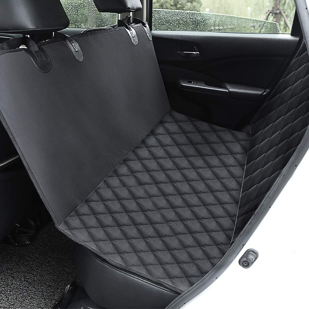 Dog Car Seat Cover Waterproof Heavy Duty Dog Hammock, Pet Car Seat Predector Scratch Proof Nonslip for Cars Trucks and SUVs