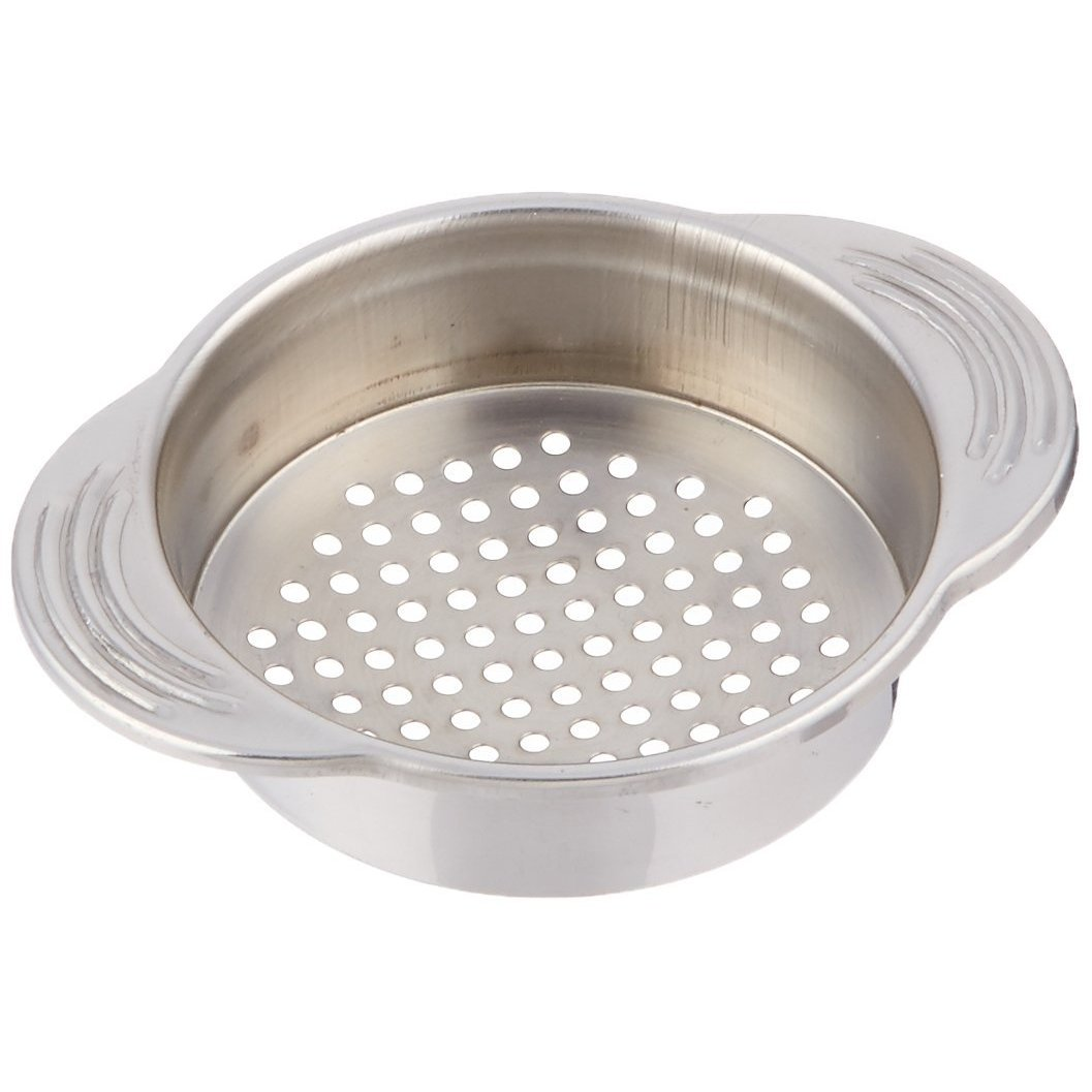 2XStainless Steel Food Can Strainer/Tin Sieve, 11.5 x 9 cm (4.5