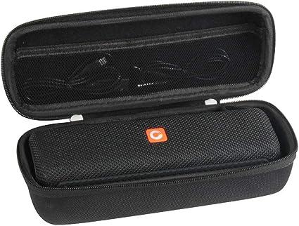 Difícil Eva Viajar Caso para DOSS E-Go II Altavoz Bluetooth Portátil Subwoofer Impermeable IPX6 por Hermitshell