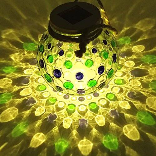 Sogrand Solar Jar Lights Outdoor Lids for Mason Jars Hanging