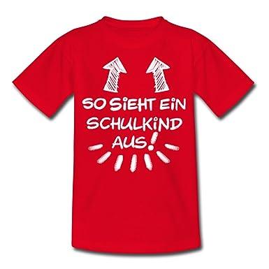 T-Shirt Einschulung//Schulanfang so Sieht Ein Schulkind aus