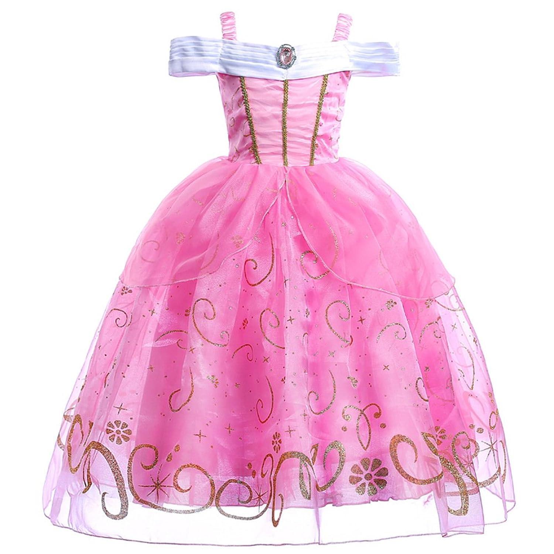 JiaDuo New Girls Princess Costume Party Layered Fancy Dress Up