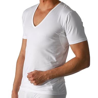 97b2b021a0166e Mey 2er Pack Herren Business Unterhemd – Größe 4 bis 8 – Weiß