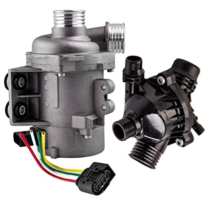 Amazon.com: New Electric Engine Water Pump and Thermostat ...