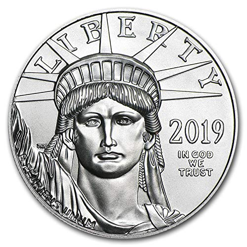 2019 1 oz Platinum American Eagle BU 1 OZ Brilliant Uncirculated ()
