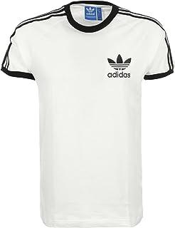 adidas Herren 3 Streifen T Shirt, Grnnit, M: Sport & Freizeit
