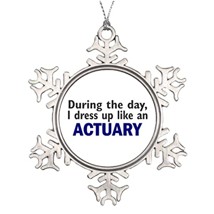 dobend personalised christmas tree decoration actuary during the day christmas decorations