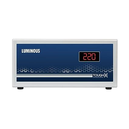 Luminous ToughX TT90D1 90V Voltage Stabilizer Suitable for TV+DTH  Grey