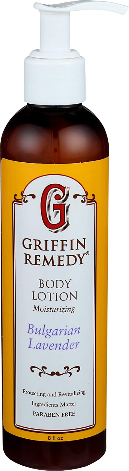 Griffin Remedy Body Lotion with MSM (Bulgarian Lavender)