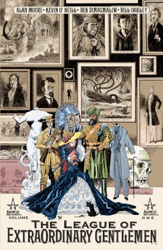 League Of Extraordinary Gentlemen Comic Book (The League of Extraordinary Gentlemen (Vol. 1))