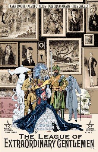 The League Of Extraordinary Gentlemen Book